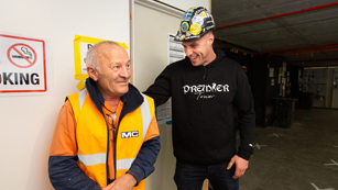 CFMEU Members young and old always come first