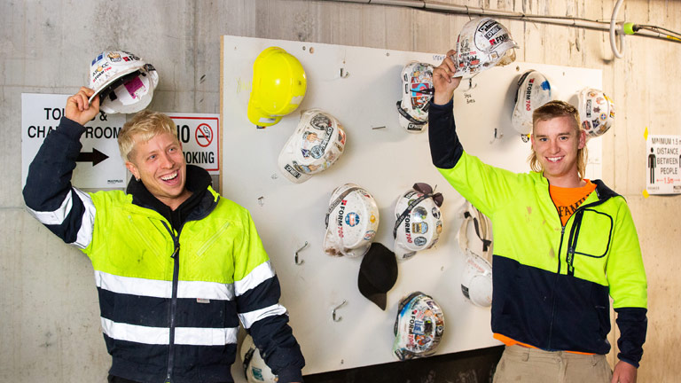 Helmets off to the CFMEU for winning more benefits for its members